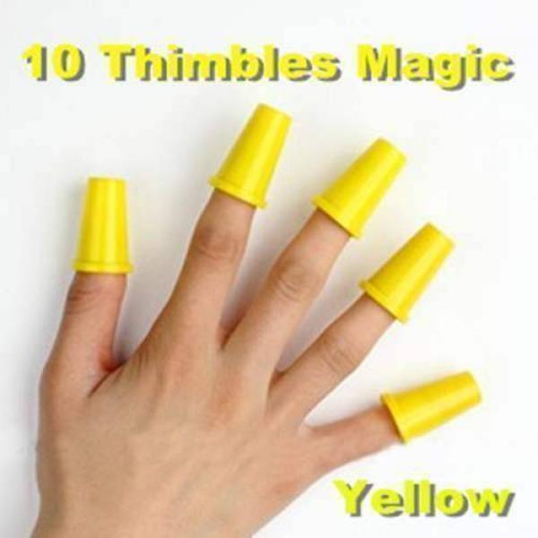 10 Thimbles Magic (Yellow)