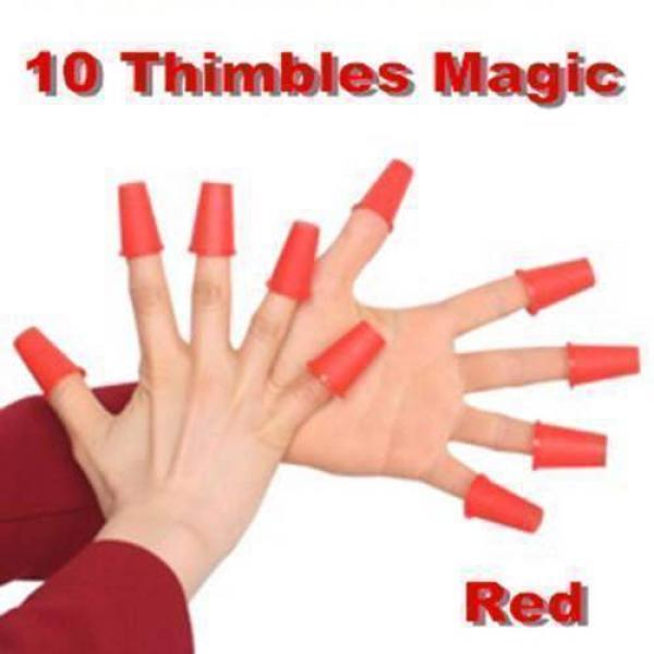 10 Thimbles Magic (Red)