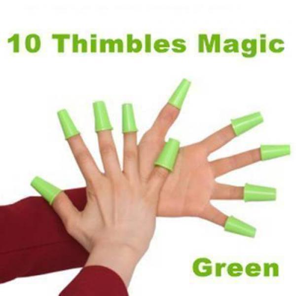 10 Thimbles Magic (Green)