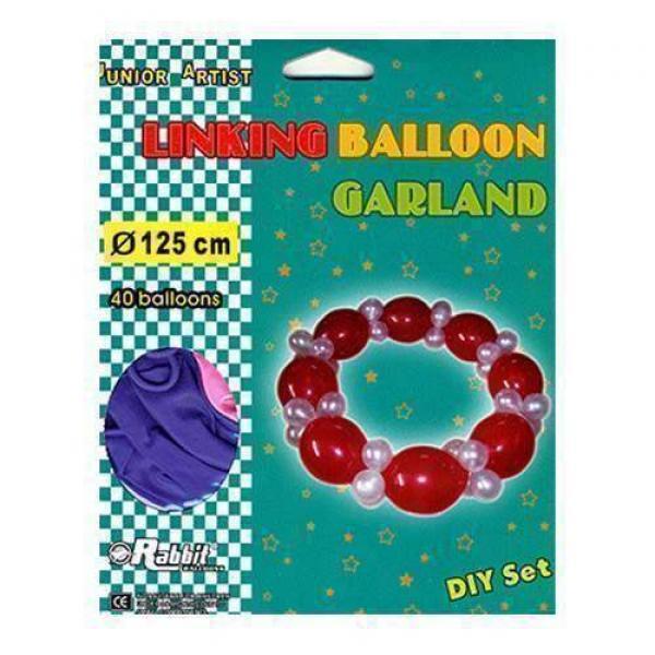 Linking Balloon Garland by Will Roya