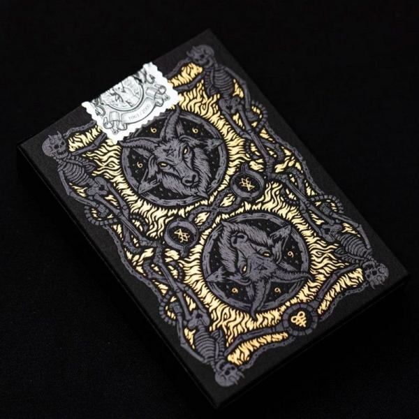 The 666 Playing Cards - Dark Reserve Foiled Editio...