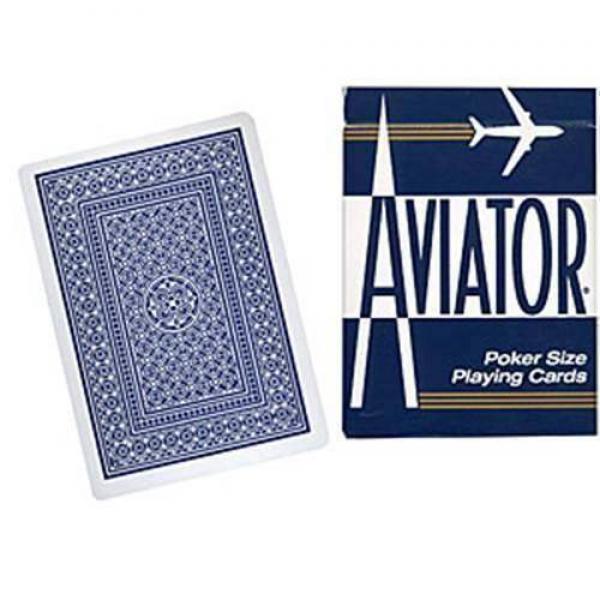 Aviator - Poker jumbo index - blue back