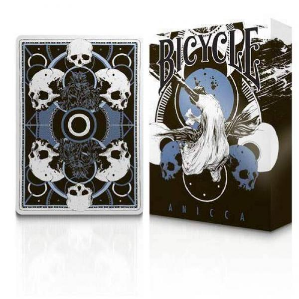Bicycle Anicca Deck (Metallic Blue) by Card Experi...