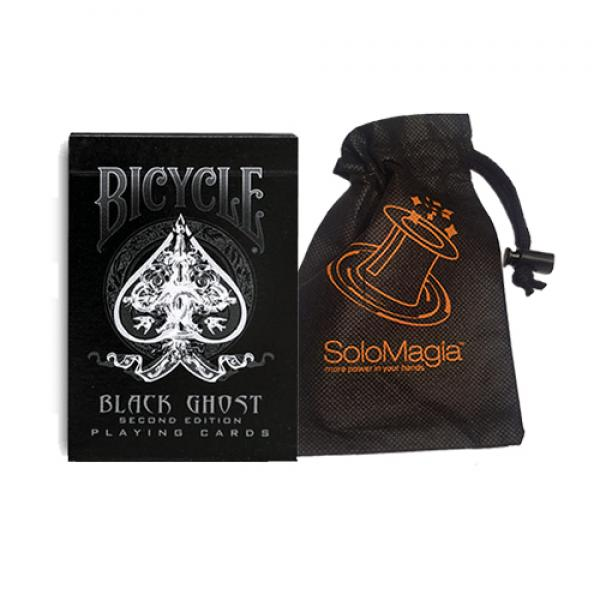 Bicycle Black Ghost by Ellusionist - with SOLOMAGI...