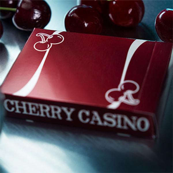 Cherry Casino (Reno Red) Playing Cards By Pure Ima...