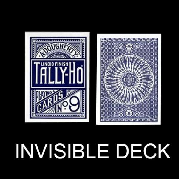 Invisible deck Tally Ho - Circle Back - Blue back