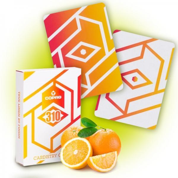 Copag 310 Cardistry Cards - Alpha - Orange Slim Li...