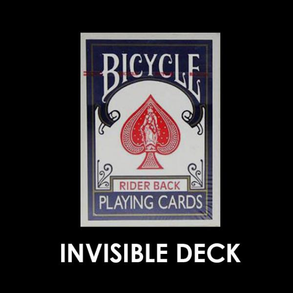Bicycle Invisible Deck - Blue