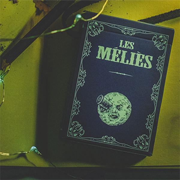 Les Melies Conquest Blue Playing Cards by Pure Ima...