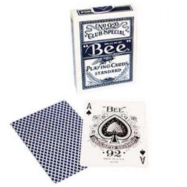 Bee - Poker size (Blue)