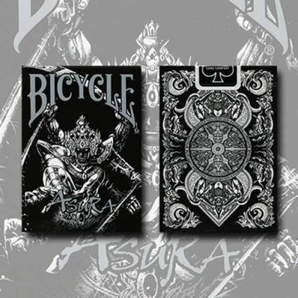 Bicycle Asura Deck (Black) by Card Experiment