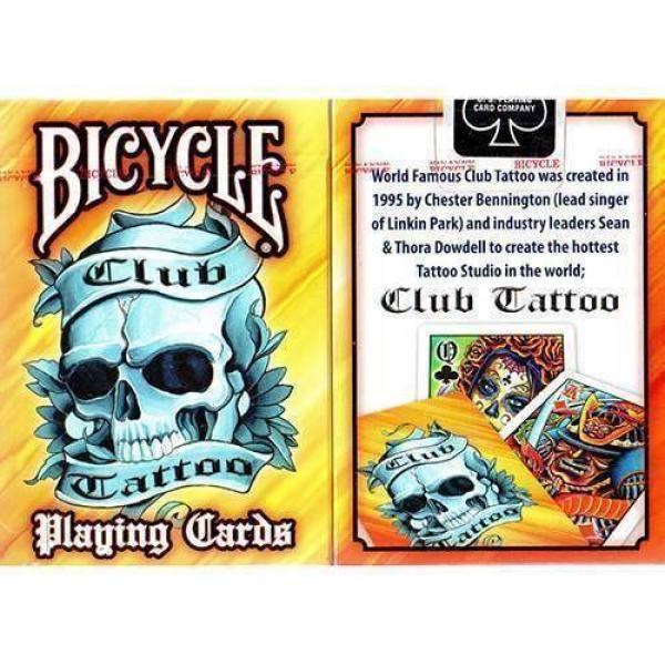 Bicycle Club Tattoo Orange