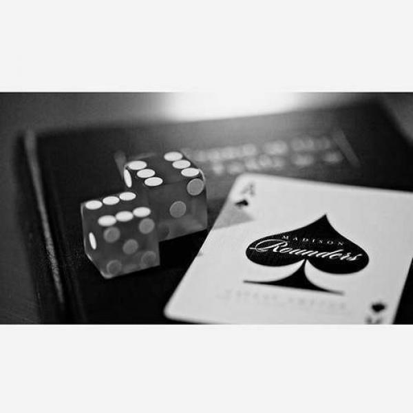 Bicycle Rounders Playing Cards by Madison & Ellusionist - Black