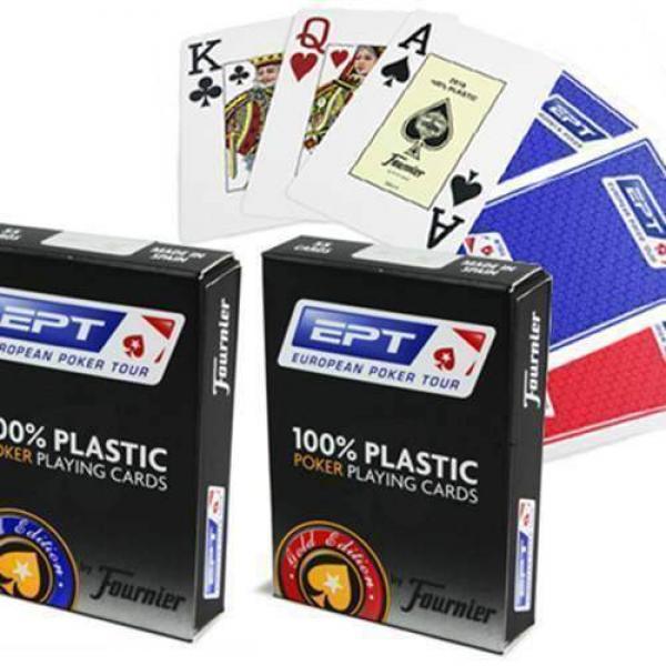 Fournier EPT 100% Plastic - red back