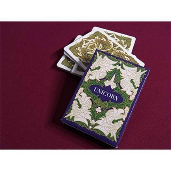 Unicorn Playing cards (Emerald) by Aloy Design Stu...