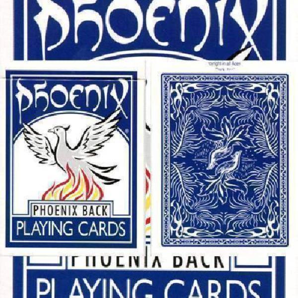 Large Index Phoenix Double Decker blank (two blue ...