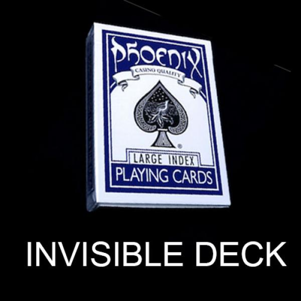 Invisible deck Phoenix Blue - Large Index