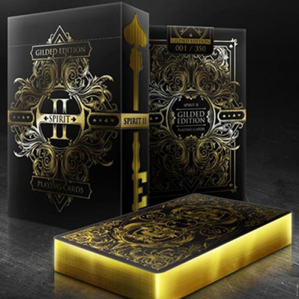 Spirit II Black (Gilded Edition) Playing Cards