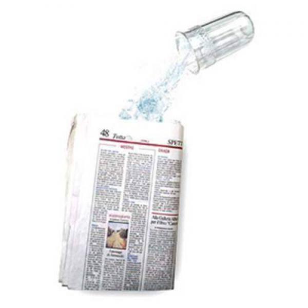 Liquid from Newspaper