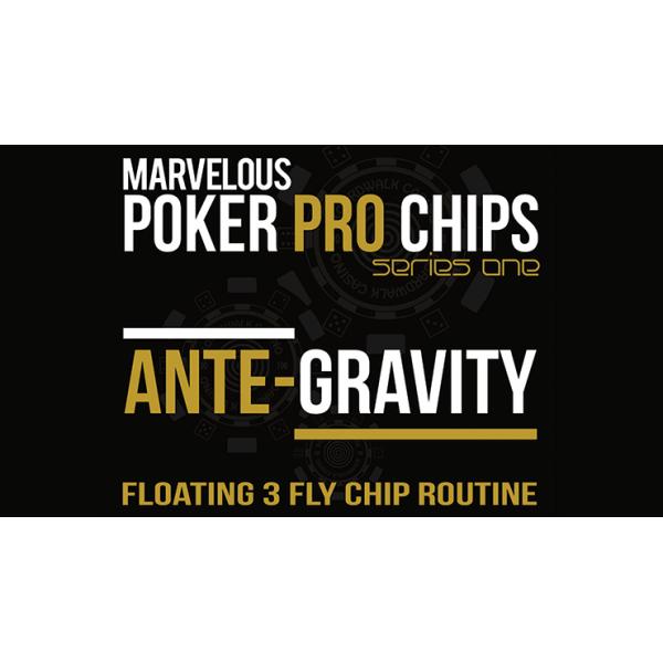 Marvelous Poker Pro Chips Ante Gravity - Floating ...