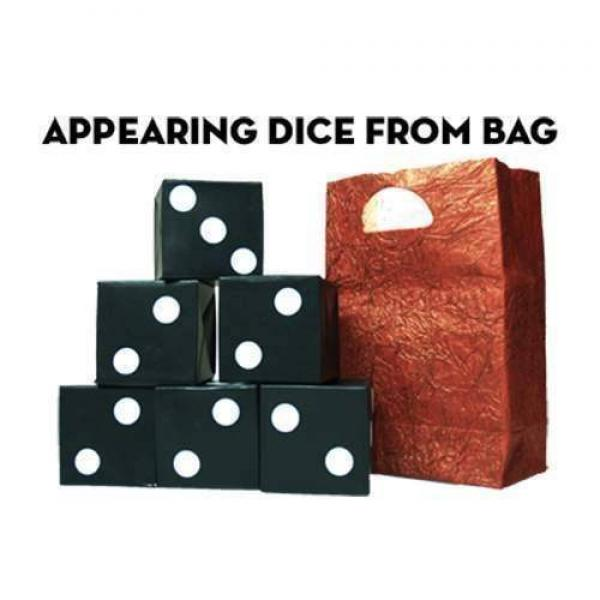 Appearing Dice From Bag by Premium Magic