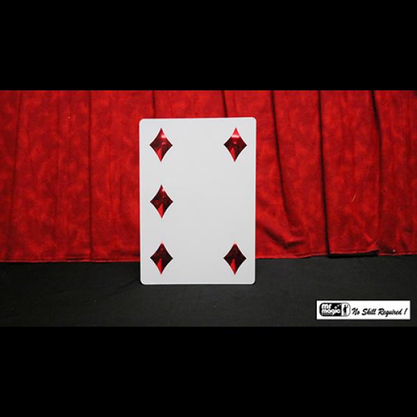 Pip Card Magnetic (Jumbo) by Mr. Magic