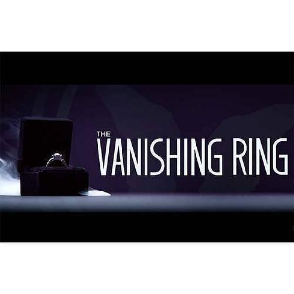 The Vanishing Ring Black (Gimmick and Online Instr...