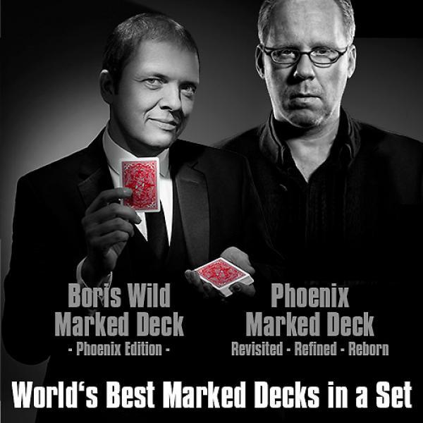World's Best Marked Decks in a Set