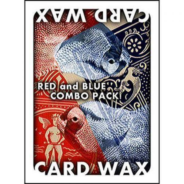 Card Wax Combo Pack - Red and Blue