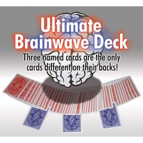 Poker Ultimate Brainwave-Deck - Red