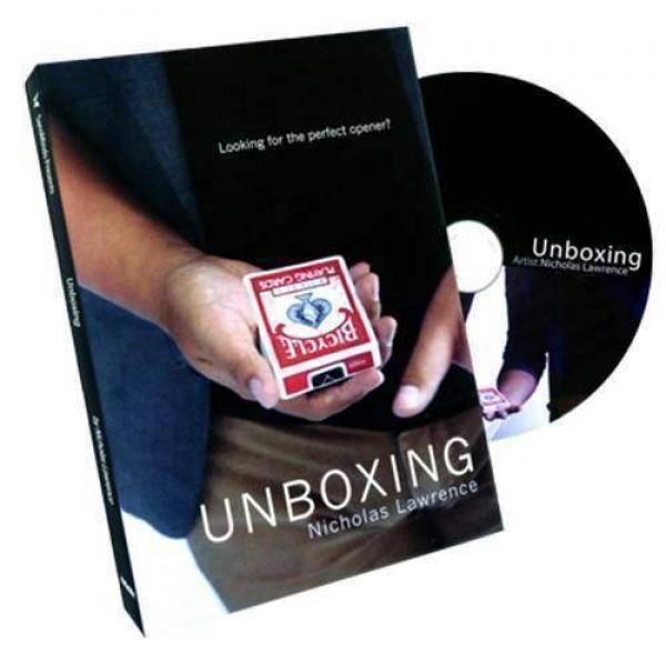 Unboxing by Nicholas Lawrence and SansMinds (DVD &...