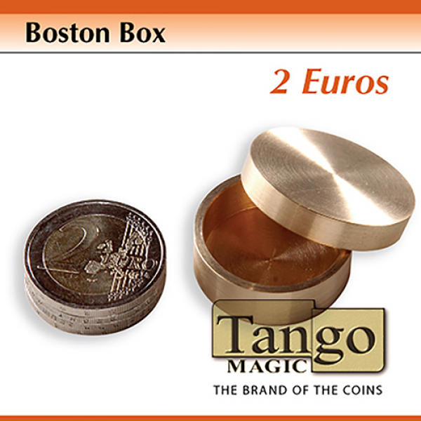 Boston Box (2 Euro coin) (B0007) by Tango Magic - ...
