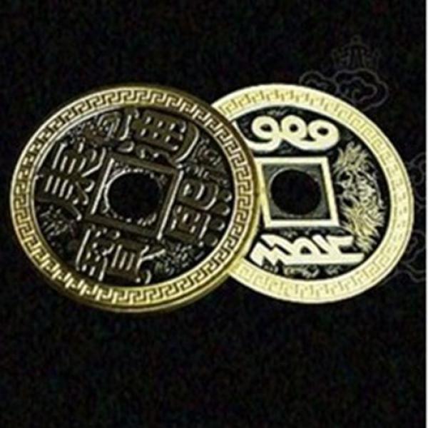 Chinese Flipper Coin - Half Dollar Size 31mm