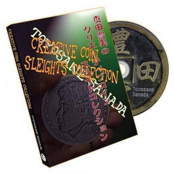 Creative Coin Sleights Collection by Sanada - DVD