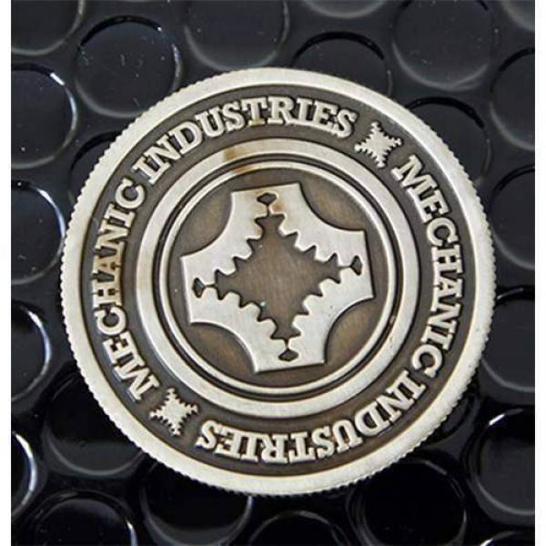 Full Dollar Coin (Gun Metal Grey) by Mechanic Indu...