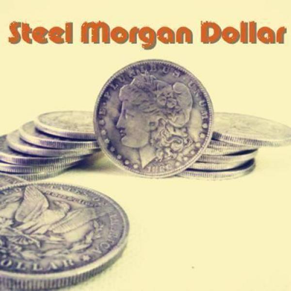 Steel Morgan Dollar (3.8cm)