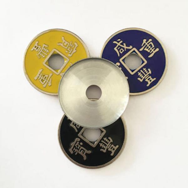 Expanded Shell Chinese Coin (Xianfeng, Half Dollar...