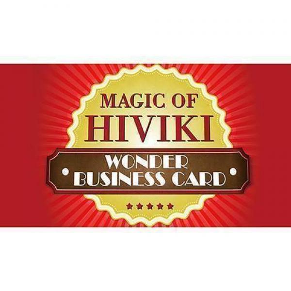 Wonder Business Card by Hiviki