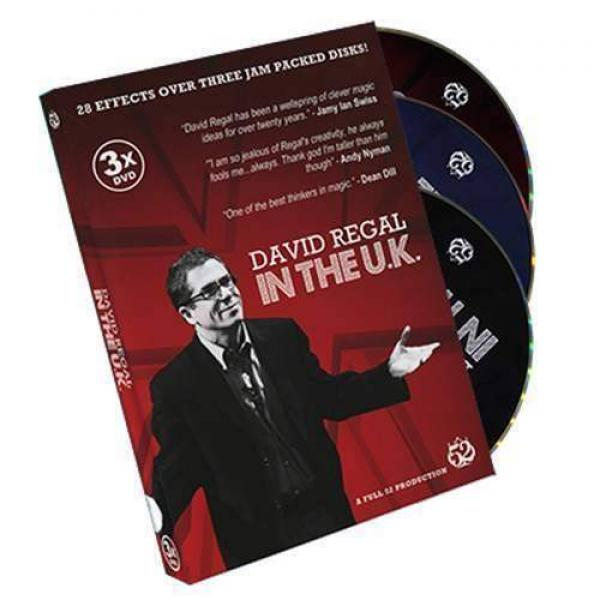 David Regal In The UK by David Regal - 3 DVD set