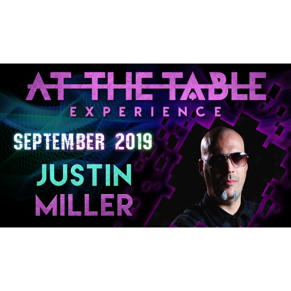 At The Table Live Lecture Justin Miller 2 Septembe...