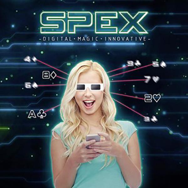 SPEX GLASSES (8 of Diamonds Version) by Magic Drea...