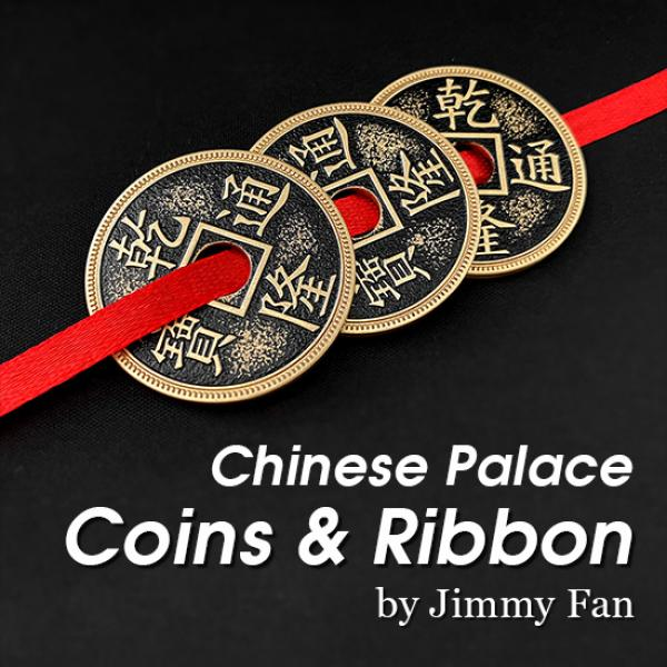 Chinese Palace Coins and Ribbon by Jimmy Fan