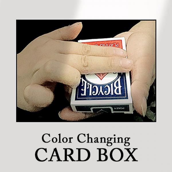Color Changing Card Box by J.C Magic