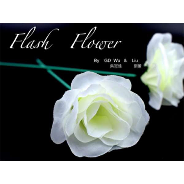 White Flash Flower (2pk.) - by GD Wu & GT magi...