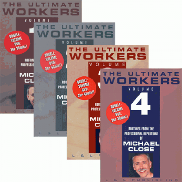 Michael Close Workers Set (Vol 1 thru 4) video DOW...