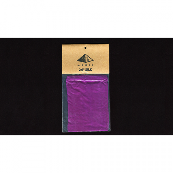 Silk 24 inch (Purple) by Pyramid Gold Magic