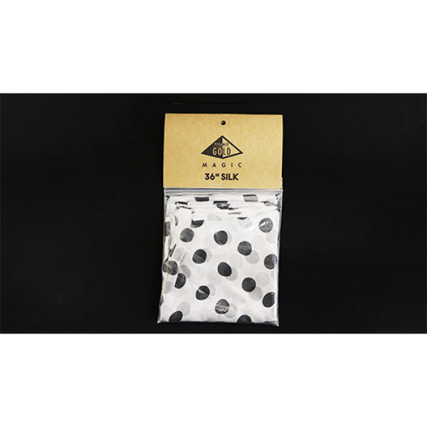 Silk 36 inch (White with Black Polka Dots) by Pyra...