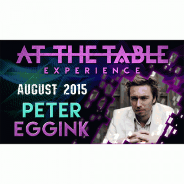 At the Table Live Lecture Peter Eggink August 19 2...
