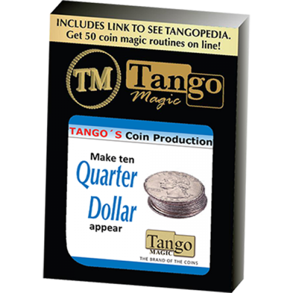 Tango Coin Production - Quarter D0185 (Gimmicks an...