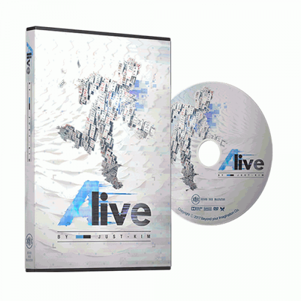 ALIVE by Just Kim (DVD & Gimmick)